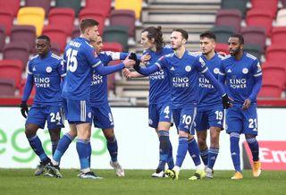 Brentford v Leicester City – Emirates FA Cup – Fourth Round – Brentford Community Stadium