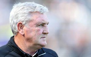 Newcastle United manager Steve Bruce | Newcastle v Leeds live stream