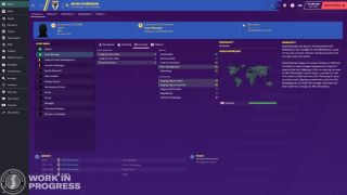 Football Manager profile