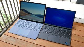 Surface Laptop 4 vs. XPS 13