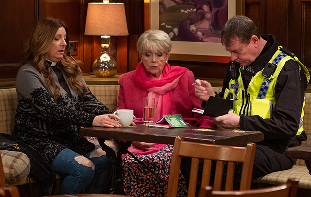 Emmerdale spoilers: Harriet talks to the police in the wake of the