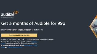 Get 3 months of Audible for just 99p