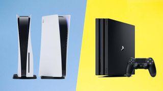 PS5 vs. PS4