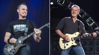 Mark Tremonti and Eddie Van Halen