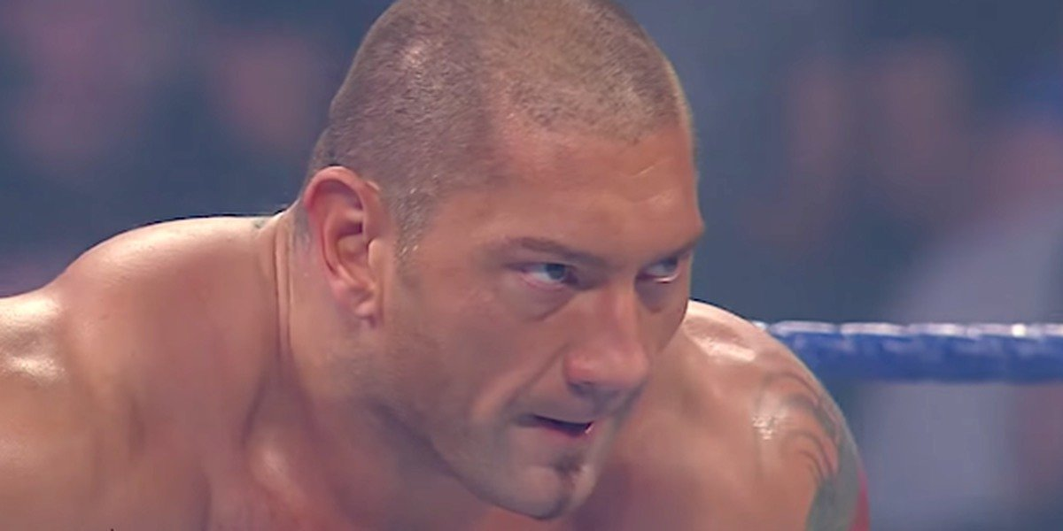 Dave Bautista on SmackDown