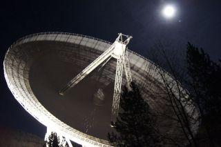 Effelsberg Radio Telescope by Night