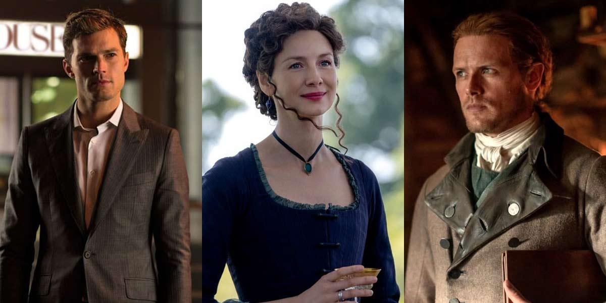 Sam Heughan Seems Pumped For Outlander Co-Stars Caitriona Balfe's Next Movie With Jamie Dornan