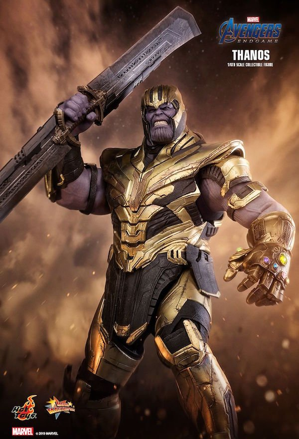 Looks Like Thanos Is Getting An Epic Weapon In Avengers