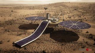 Mars One's Robotic Lander