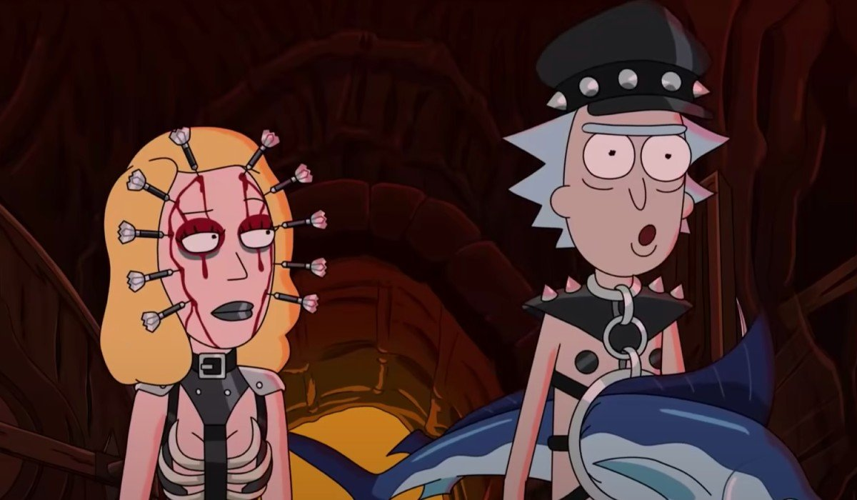 Beth and Rick Rick and Morty