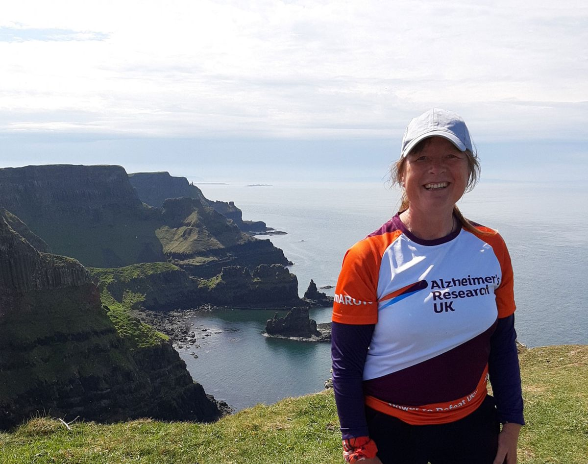 Meet the amazing 53-year-old tackling a huge four-year event to raise charity funds