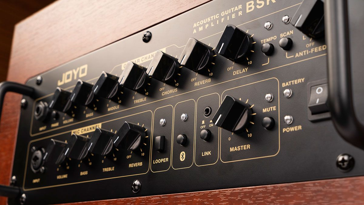Joyo's BSK-60 amp allows you to play as a full band anywhere