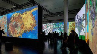 Matrox QUadHead2Go powers touring projection art exhibit