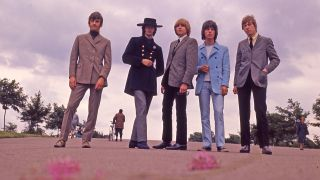 a press shot of the yardbirds