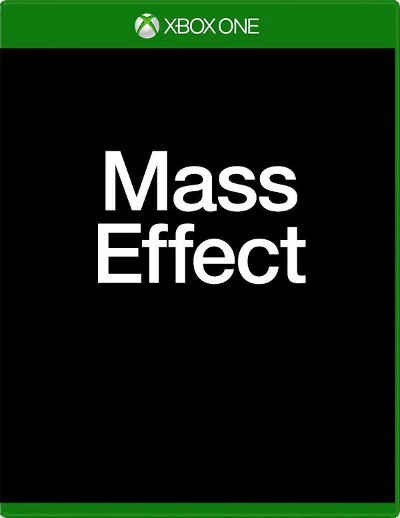 Xbox One box art for Mass Effect 4