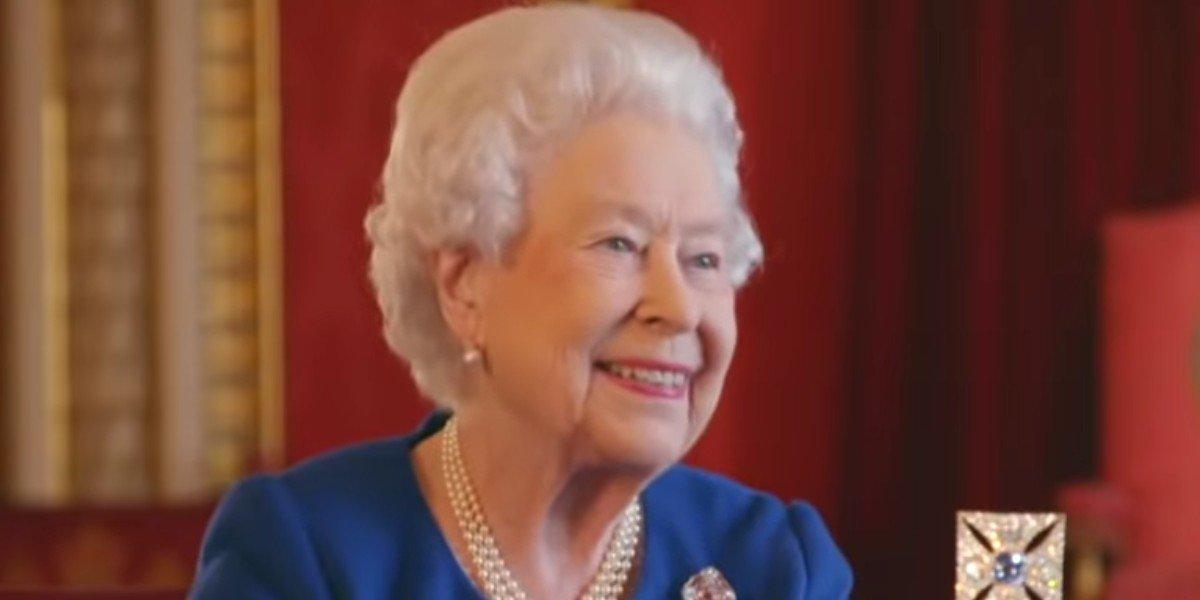 Queen Elizabeth II during interview