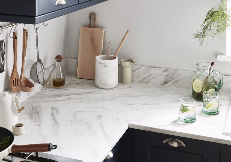 B&Q kitchen worktops