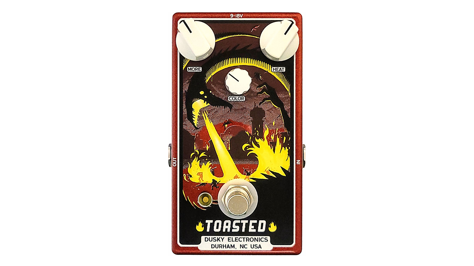 """Dusky Electronics cooks up the Toasted – an """"amp-like"""" overdrive pedal with a pair of MOSFET gain stages"""