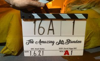 'The Amazing Mr Blunden' has just started filming.