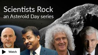"Scientists Rock"" poster"