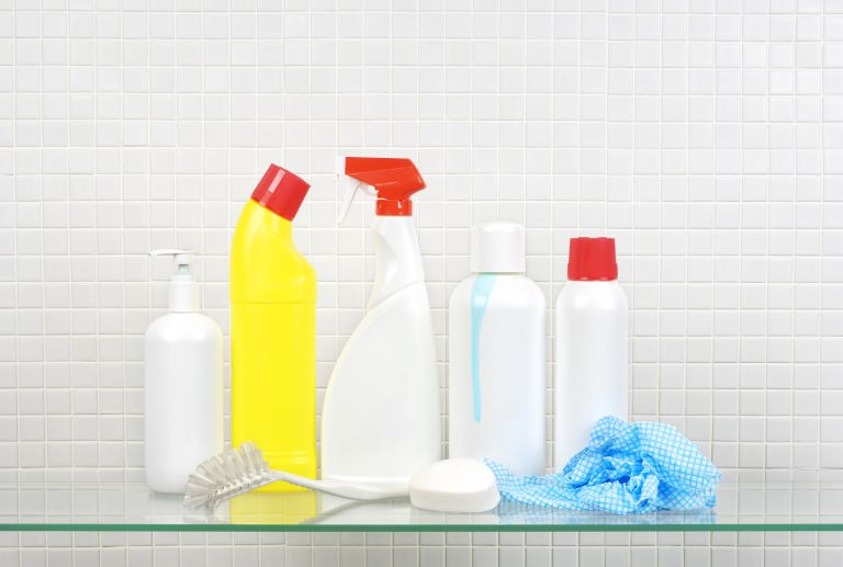 Non-labelled cleaning products