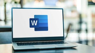 How to delete a page in Microsoft Word — laptop displaying Microsoft Word