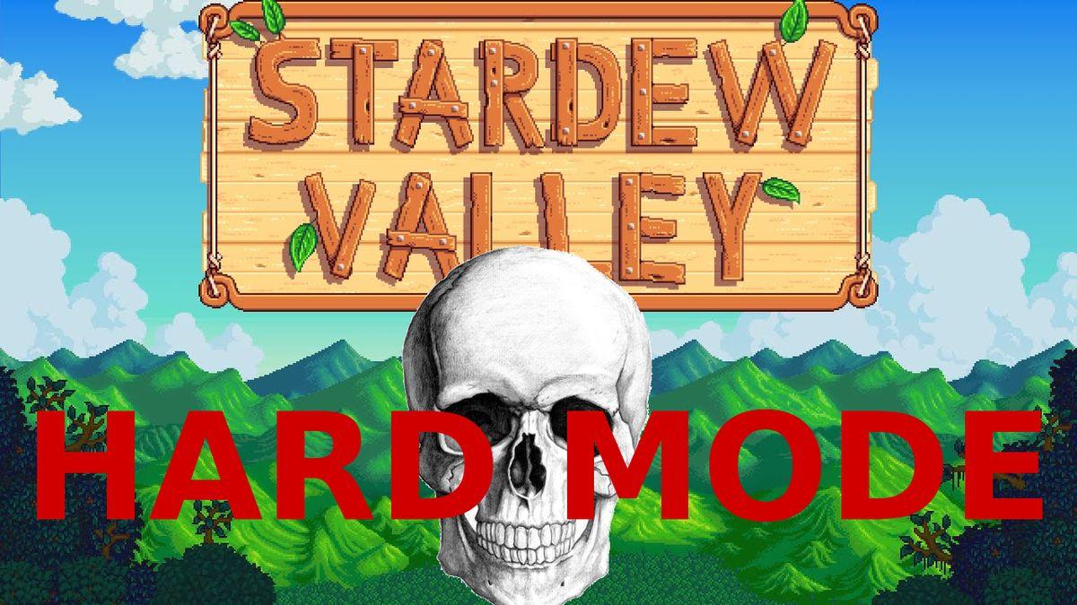 Stardew Valley hard mode mod cranks enemy damage up 200 percent