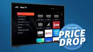 70-inch JVC 4K Roku TV
