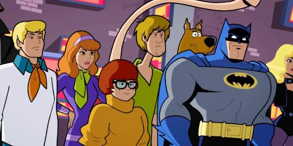 Batman with Scooby-Doo and the gang