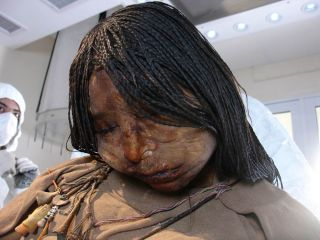 The Maiden mummy of 15-year-old girl.