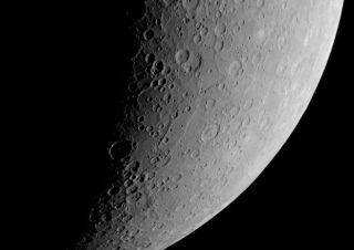 Mercury's Southern Polar Region