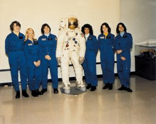 NASA's First Class of Female Astronauts