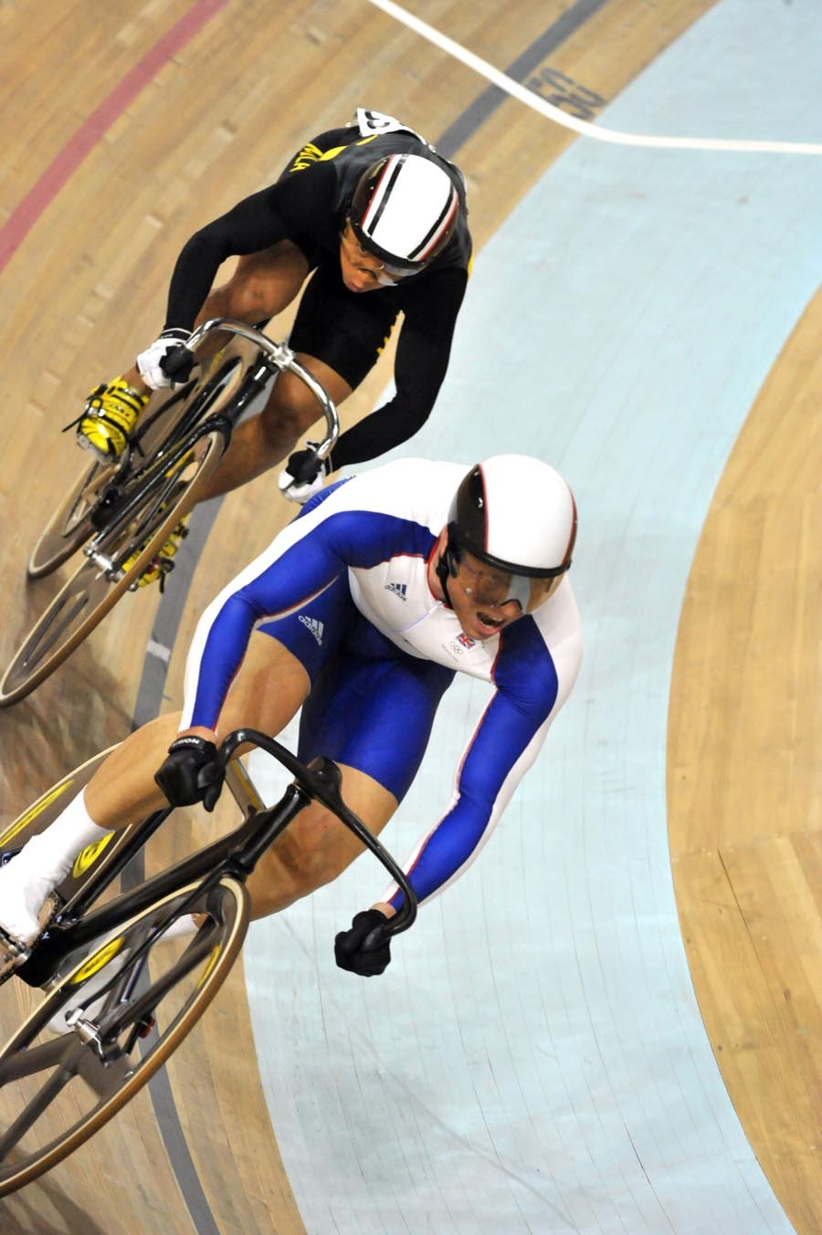 Chris Hoy is a sprint God