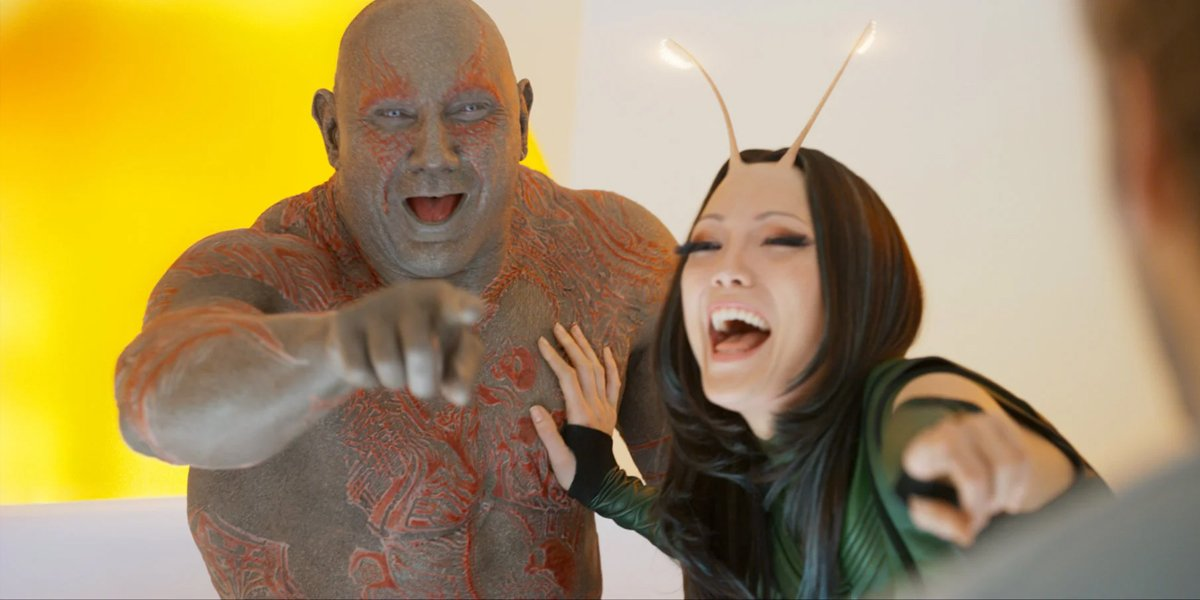 Guardians of the Galaxy Vol. 2 (2016) Drax and Mantis