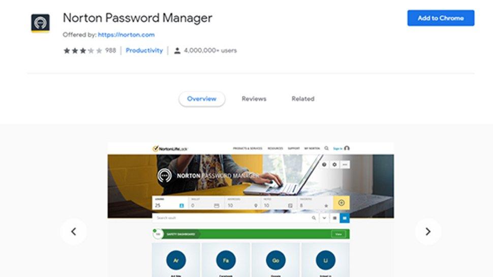 Norton Password Manager 4
