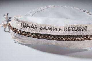 Puntzi's replica Apollo 11 Contingency Lunar Sample Return bag