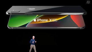 Un posible iPhone plegable