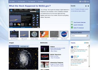 NASA.gov Redesign 2013