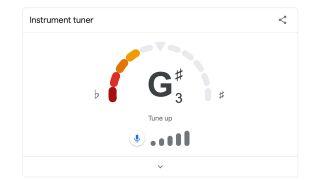 Google guitar tuner