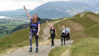 hikers enjoy the Keswick Mountain Festival