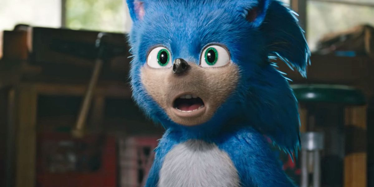 Sonic the Hedgehog from movie trailer