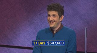 Matt Amodio, a Yale PhD student, follows Ken Jennings and James Holzhauer in money won in regular game play.