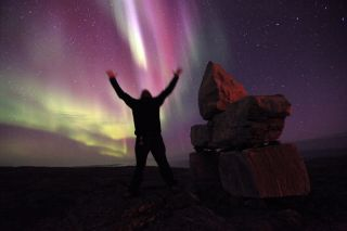 Sylvain Serre of Ivujivik, Quebec, Canada, captured this aurora shot on September 3, 2011.