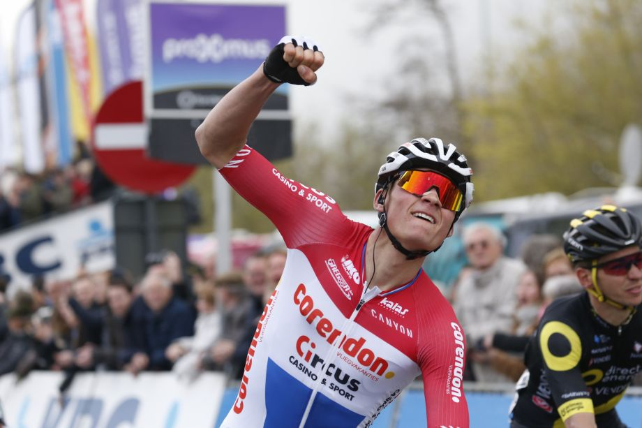 Mathieu van der Poel returns to the road after dominating mountain bike races
