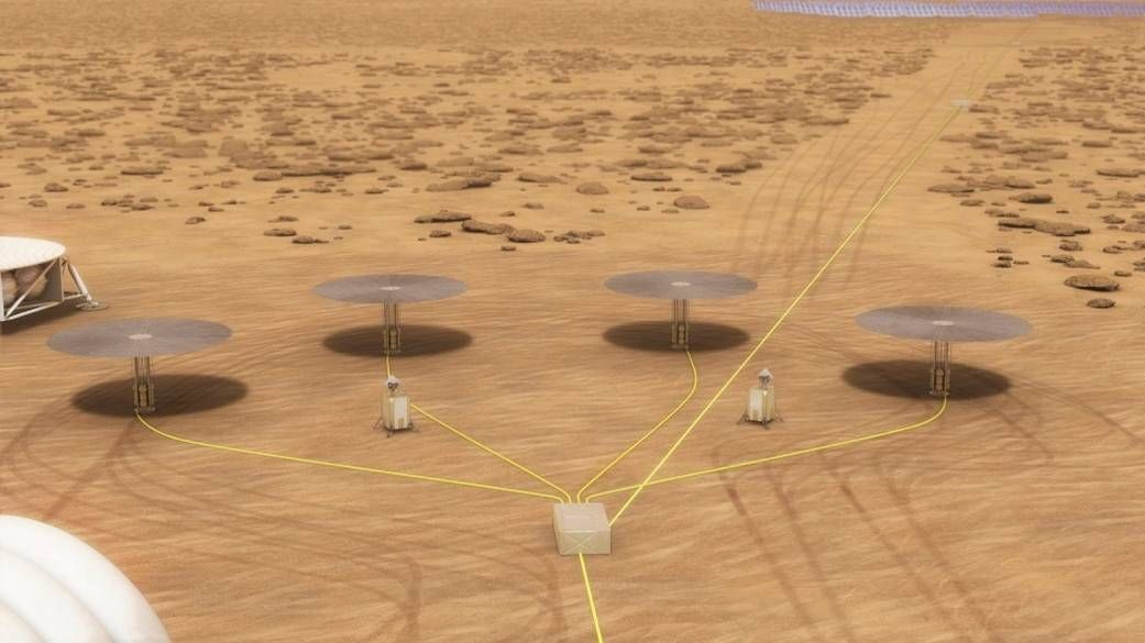 Nuclear Reactor for Mars Outpost Could Be Ready to Fly by 2022