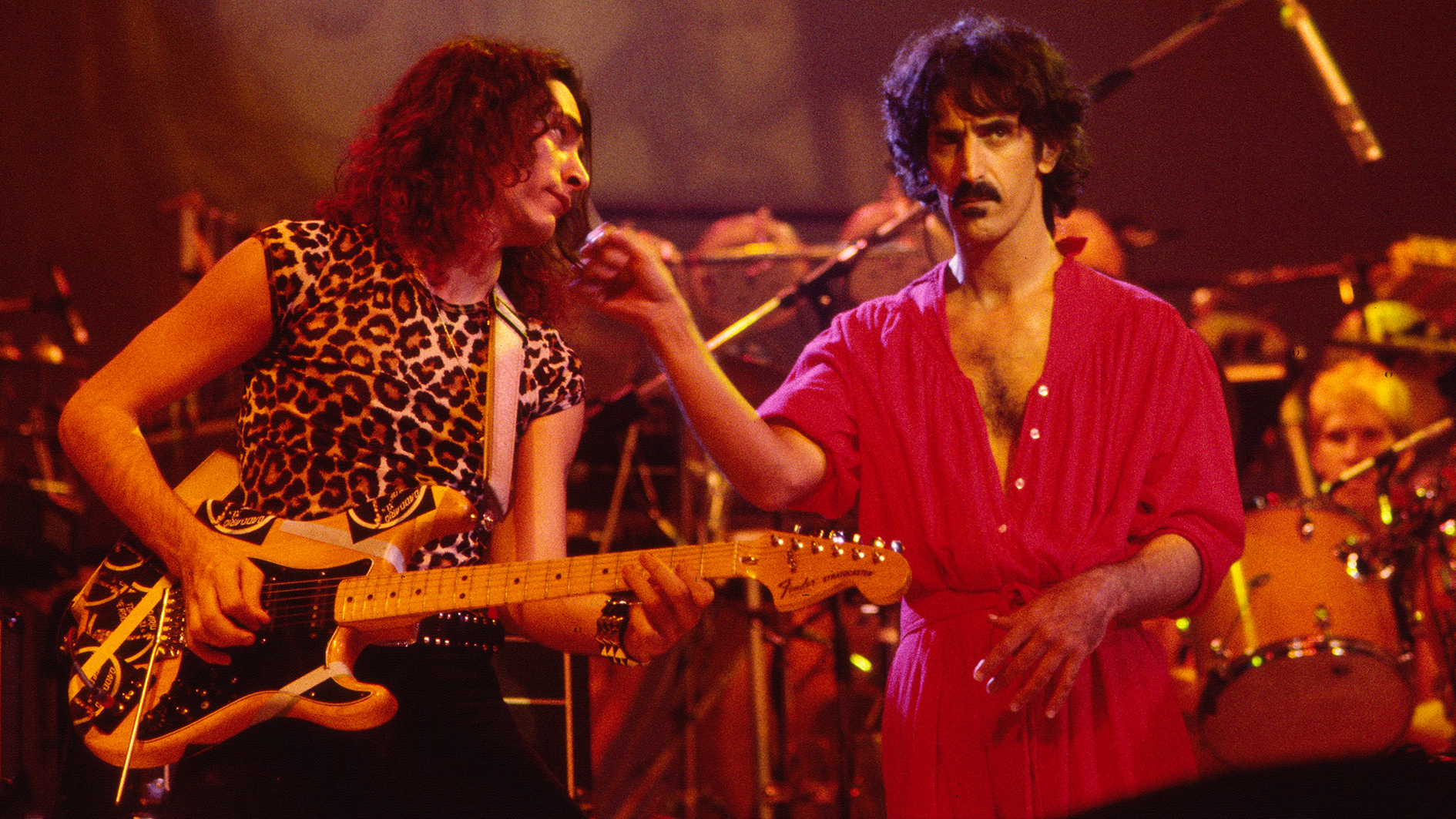 """Frank Zappa once told Steve Vai his guitar tone sounded """"like an electric ham sandwich"""""""