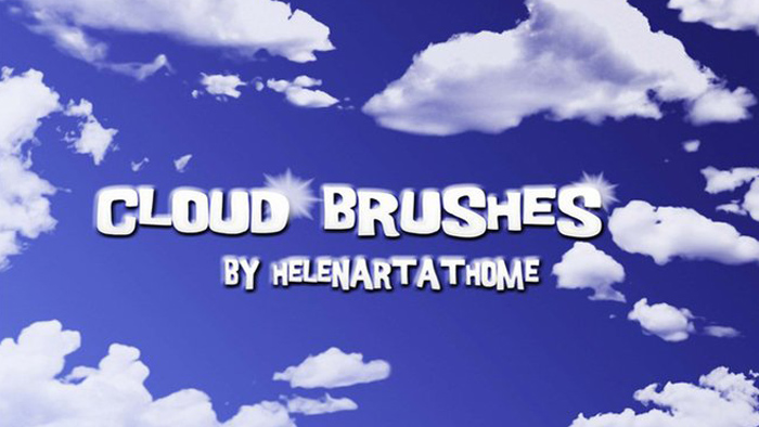 Photoshop brushes - Clouds