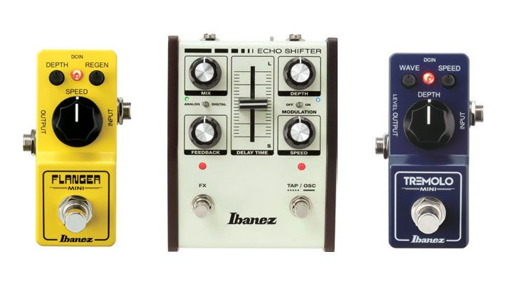 NAMM 2020: Ibanez launch trio of new effects pedals