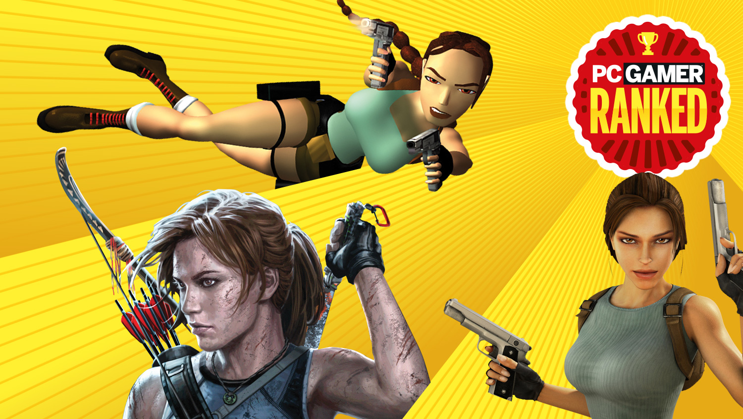 Tomb Raider: Every version of Lara Croft, ranked by Lara-ness