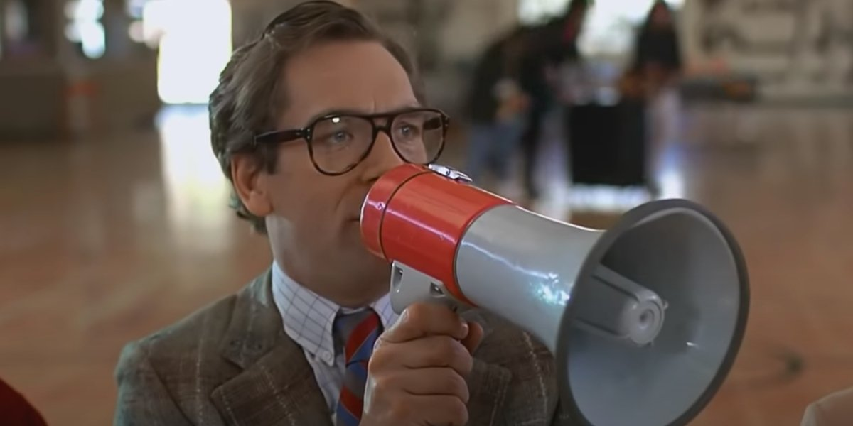 Huey Lewis in Back To The Future